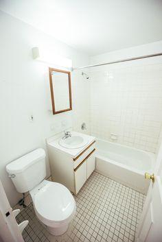 Walk In Closet, Washer And Dryer, Corner Bathtub, Condo, Mirror, Bathroom, Furniture, Home Decor, Washroom
