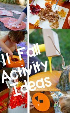 tot school: 11 fall activity ideas