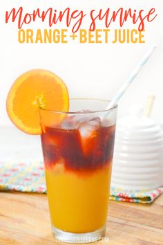 Start your day off with a boost from this morning sunrise juice! Inspired by the Morning Meditation drink at First Watch this beverage blends orange and beet juice together for a healthy start! Detox Juice Recipes, Healthy Juice Recipes, Juicer Recipes, Healthy Juices, Detox Drinks, Healthy Drinks, Detox Juices, Drink Recipes, Salad Recipes