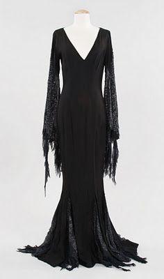 Mortica Addams' dress