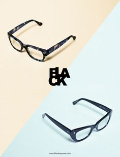 Black Eyewear, by Bibliothèque Design