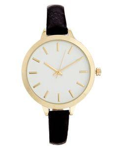 ASOS Large Face Slim Strap Watch