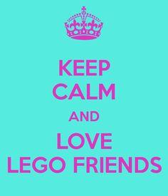 I luv my lego friends