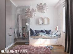 POKOIK DZIECIĘCY DLA DZIEWCZYNKI - Pokój dziecka, styl nowoczesny - zdjęcie od Magda Mikołajczyk PRACOWNIA PROJEKTOWANIA WNĘTRZ