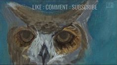 How to Paint Animal Eyes | eye |  tutorial | wildlife art | clive5art