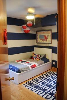 Big Buoy Room - adorable big boy nautical room!