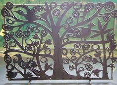 Tree of Life Fireplace Screen -- if I had a fireplace, I would buy this in an instant. Trees are one of the great loves of my life...