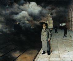 Nicolai Yaroshenko - Seeing off