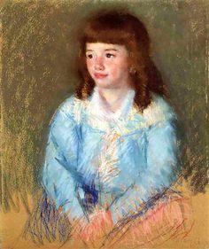 Young Boy in Blue - Mary Cassatt