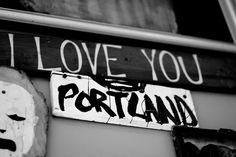 I love you, Portland. #pdx