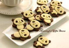 Panda Cookie Cutter, Bakery mold, 3D cookie cutter, Sugarcraft Decoration on Etsy, $9.95