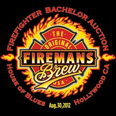 Tickets are on sale now for Fireman's Brew Firefighter Bachelor Auction at House Of Blues Hollywood on Aug. 30, 2012. www.loveahero.com Proceeds support widows & orphans of fallen firefighters