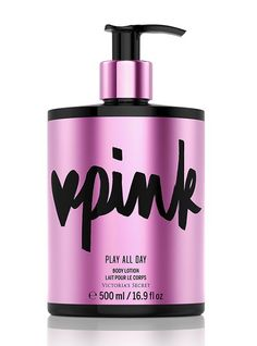 Limited-edition Play All Day Body Lotion - Victoria's Secret PINK - Victoria's Secret
