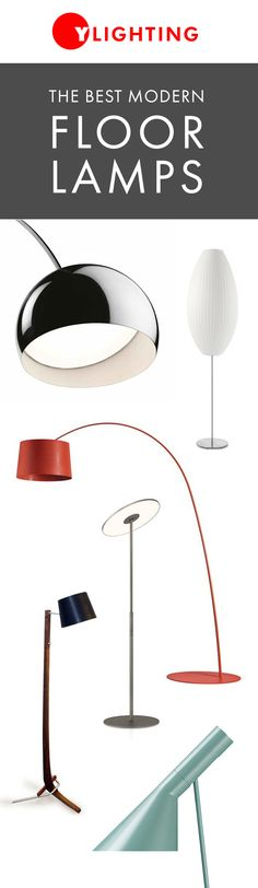 The right modern floor lamp does more than just illuminate a space - it can completely elevate a room design or even serve as a stunning sculptural focal point. http://www.ylighting.com/category/Lighting/Floor-Table-Lamps/All-Floor-Lamps/_/N-16yvo #YinTheWild