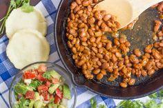 Sopes with Smoky Pinto Beans and Avocado Salsa | ohmyveggies.com