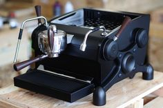 Slayer Single Group espresso machine, in matte black                                                                                                                                                                                 More