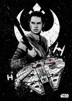 Star Wars Rei metal poster - PosterPlate posters made out of metal