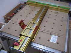 (1) MFT Upgrade! Incra LS Positioner Incremental System vs. Table Saw Fence on MFT/3