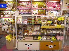 Rilakkuma toys and gifts at Kiddyland Tokyo, Japan #kawaii