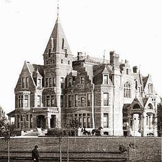 Mansions of the Gilded Age: Lost Mansions of the Gilded Age: Fair Oaks, Minneapolis, Minnesota