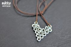 Make a Hex Nut Heart Pendant