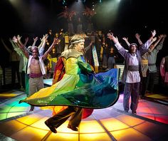 Joseph's coat of many colors is one of the most unique costumes we have at Hale Centre Theatre.