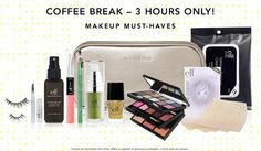 Coffee Break: Makeup Must-Have Kit, regularly $40 if purchased separately, for just $20 at EyesLipsFace.com. That's 50% off! Valid Thursday, 5/8 only - no coupon needed. Shop Now!,http://www.ishopsmartandsave.info/bestdeals/share/C9870917-A411-451D-A0A7-99D4E6D8FC00.html