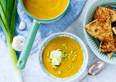 Currysoppa med vitlökscrème | MåBra - Nyttiga recept