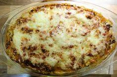 Kohlrabi Lasagne (Low Carb)