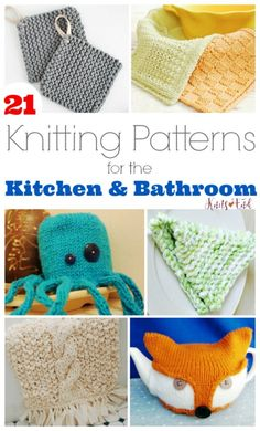 Knit Up Some Projects to Help with Spring Cleaning