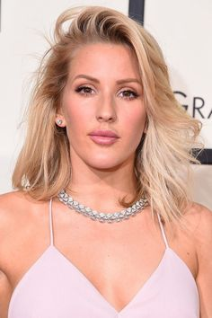 19 Of The Best Beauty Looks From The Grammy Awards 2016 Ellie Goulding Is