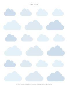 A cloud pattern by Sweet Paul by muriel
