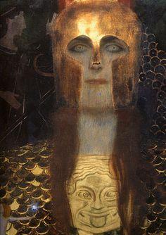 Gustav Klimt, Pallas Athena, 1898