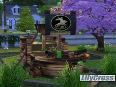 Create for Sims 4 (Pirate ship Base Game recolor)  Found in TSR Category 'Sims 4 Miscellaneous Entert. Rec.'