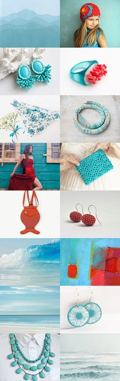 Summer Ends by Marta on Etsy--Pinned with TreasuryPin.com End Of Summer, Crochet Earrings, Board, Etsy, Jewelry, Fashion, Moda, Jewlery, Jewerly