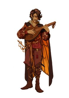 m Bard Cloak Lute Rapier coastal urban city docks ship sea island Male Human - Pathfinder PFRPG DND D&D ed fantasy Male Character, Character Design Cartoon, Character Portraits, Fantasy Character Design, Character Design Inspiration, Character Concept, Dungeons And Dragons Characters, Dnd Characters, Fantasy Characters