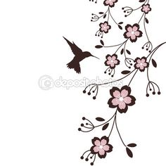 Hummingbird Sakura This has a Japanese feel - restful and deceptively simple