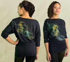 """Varen"" Bamboo Glider Dress by Inkspoon"