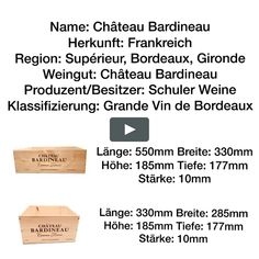 Weinkisten Château Bardineau on Vimeo Filmmaking, Did You Know, This Or That Questions, Atelier, Cinema