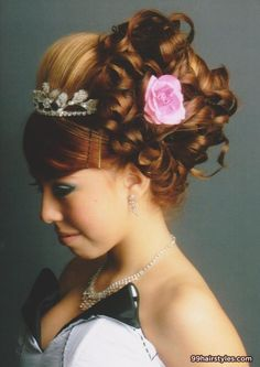 quinceanera hairstyle - 99 Hairstyles Ideas great for sweet 15