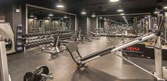 gym black ceiling - Google Search