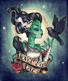 Never Say Die Art Print by Tim Shumate