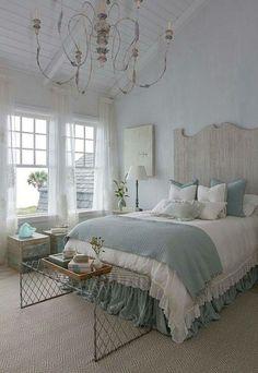 Cool 99 Modern Coastal Master Bedroom Decorating Ideas. More at http://99homy.com/2018/02/20/99-modern-coastal-master-bedroom-decorating-ideas/