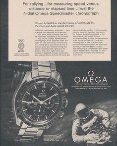 REPOST!!!  For rallying... ON THE FRICKIN' MOON. #speedytuesday #omega #speedmaster #chronograph #moonwatch #nasa  Photo Credit: Instagram ID @craniotes
