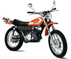 1972 Suzuki Savage - My first trail bike. Vintage Cycles, Vintage Bikes, Vintage Motorcycles, Sport Motorcycles, Suzuki Bikes, Suzuki Motorcycle, Motorcycle Garage, 250 Dirt Bike, Dirt Bikes
