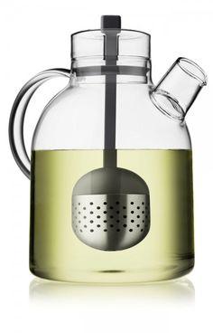 menu Kettle Teekanne Glas m. Tee-Ei 1,5 l carbon