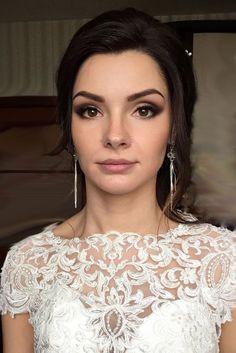 30 Bright Wedding Makeup Ideas For Brunettes Matte Lips Anastasiya Gan
