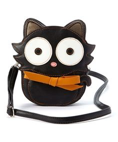Look at this Black Cat Crossbody Bag on #zulily today!