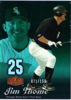 2006 FLAIR SHOWCASE UPPER DECK LEGACY JIM THOME CARD #38 #'ED 71/150 in Sports Mem, Cards & Fan Shop, Cards, Baseball   eBay