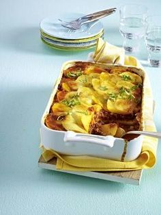 Kartoffel-Bolognese-Auflauf Rezept